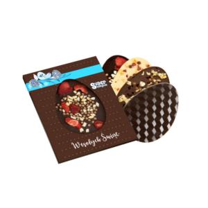 czekoladowa pisanka z logo