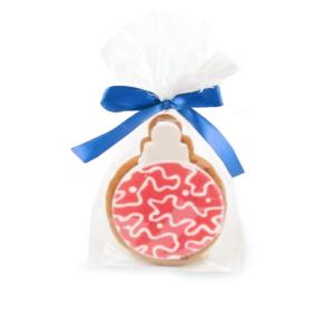 Świąteczne ciasteczko reklamowe z nadrukiem