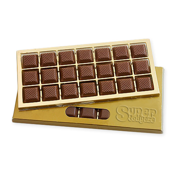 blegijska czekolada w kostkach
