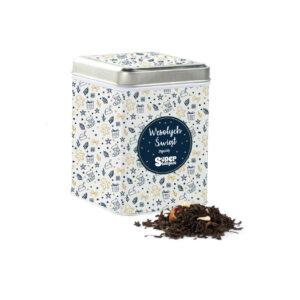 Earl Grey z pomarańczą, czarna herbata w puszce