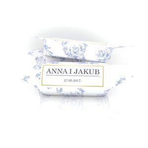 Krówka w papierku ślubnym Anna i Jakub
