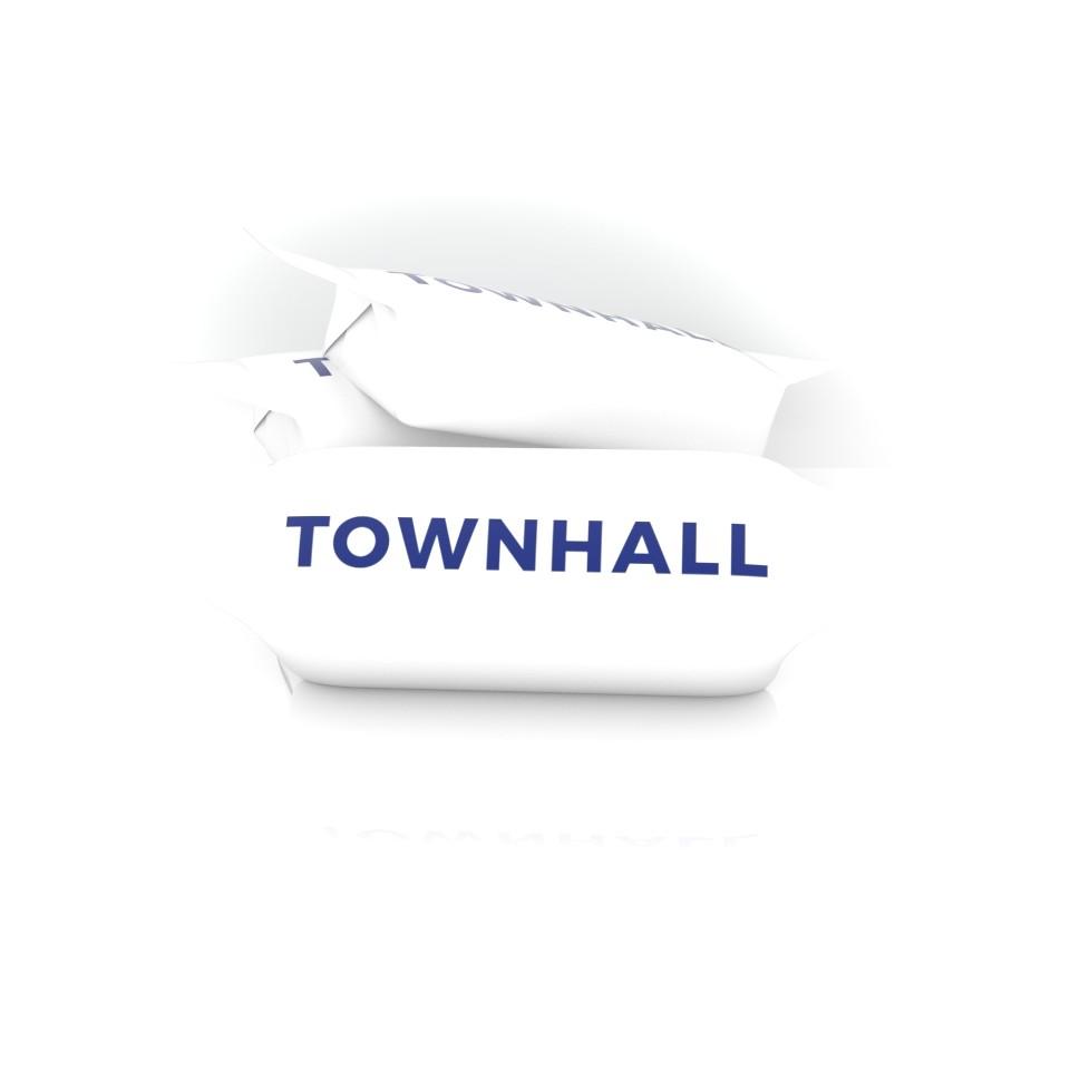 Krówki z logo TOWNHALL