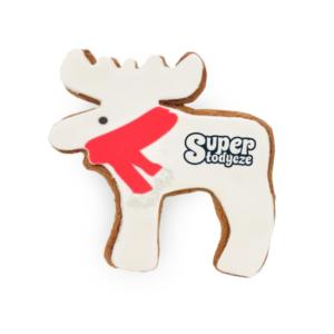 Świąteczne ciasteczka reklamowe Renifer - Super Słodycze