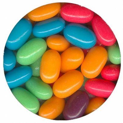 drażetki big minis owocowe - kolorowe