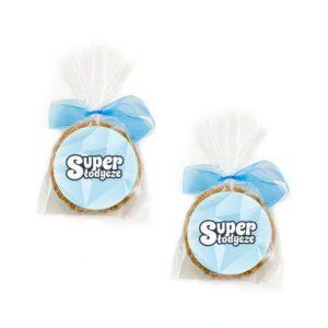 ciasteczka owsiane z logo