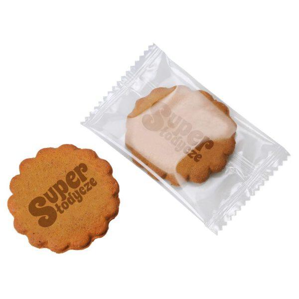 ciasteczko reklamowe z naniesionym logo