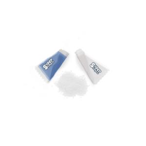 biały cukier w saszetkach