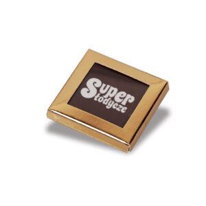 czekoladka reklamowa z okienkiem