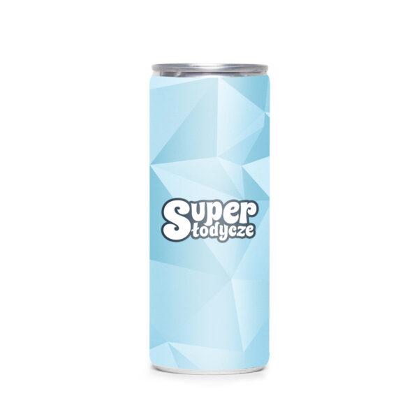 napoje energetyczne z logo